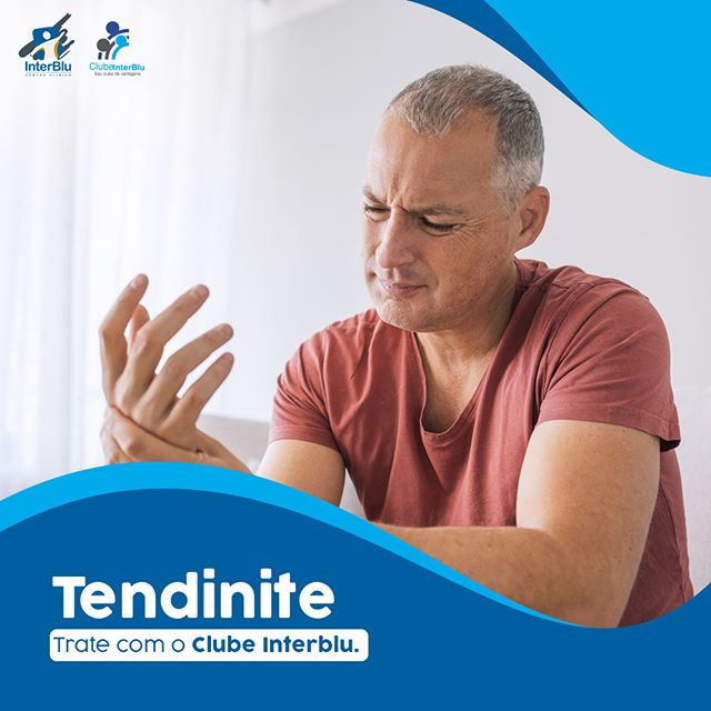 Tendinite – Trate com a InterBlu