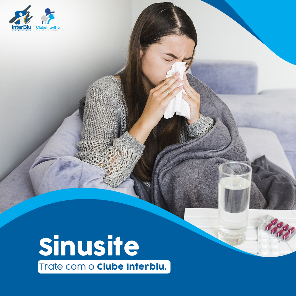 Sinusite – Trate com a InterBlu
