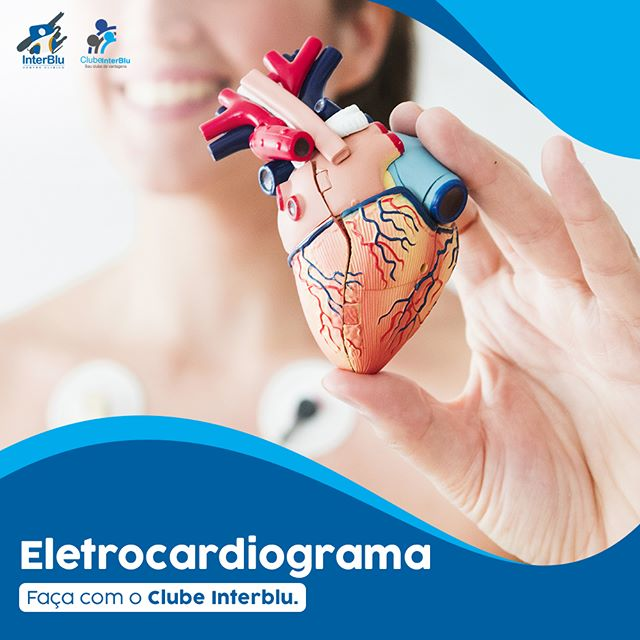 Eletrocardiograma com o Clube InterBlu