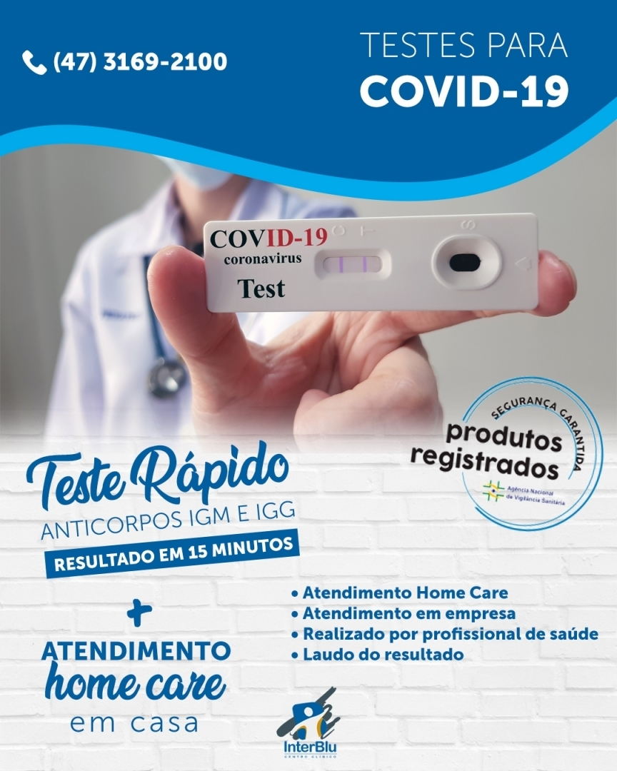 Testes para COVID-19