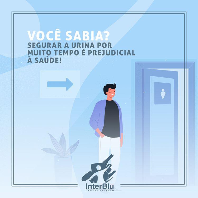 Segurar a urina por muito tempo é prejudicial à saúde!